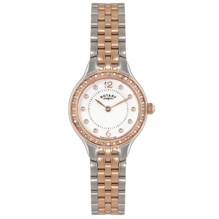 Rotary Ladies' 2 Colour Stainless Steel Bracelet Watch - Product number 5056985