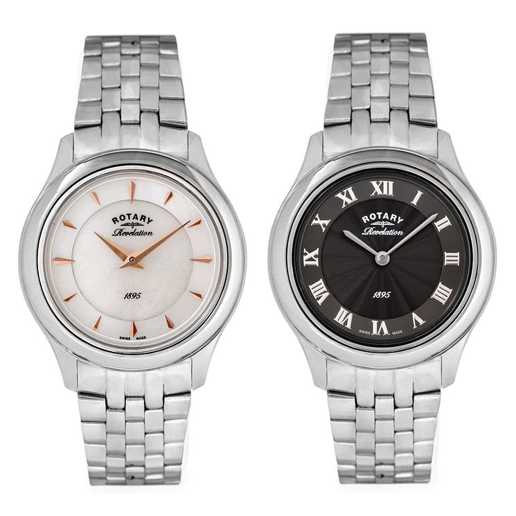 Rotary Revelation Ladies' Stainless Steel Bracelet Watch - Product number 5057000