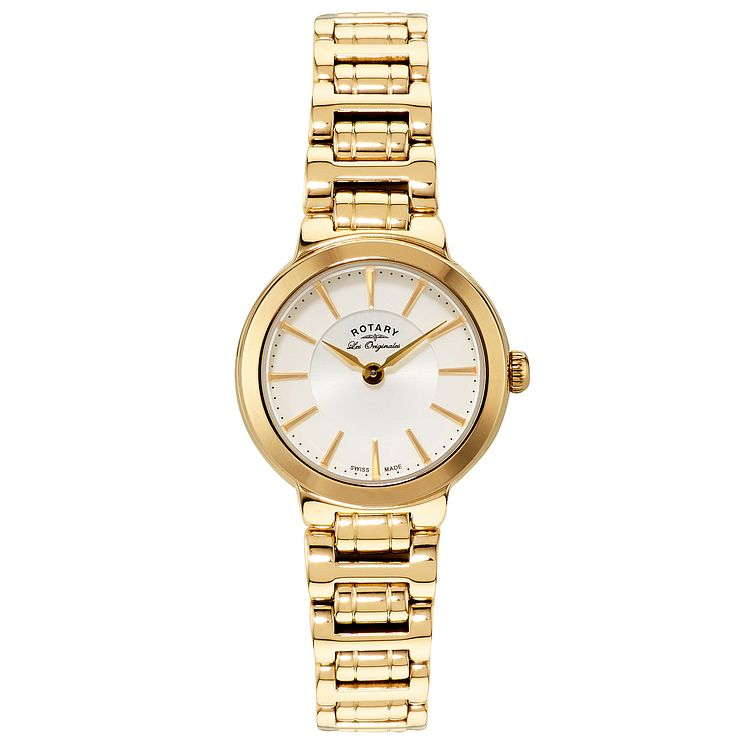 Rotary Les Originales Ladies' Gold-Plated Bracelet Watch - Product number 5057132