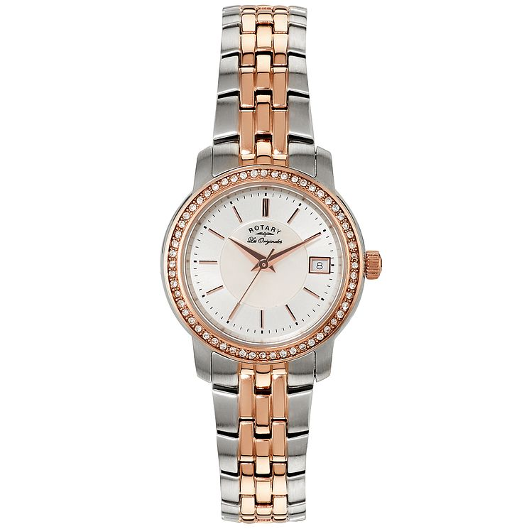 Rotary Les Originales Ladies' 2 Colour Steel Bracelet Watch - Product number 5057167