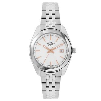 Rotary Les Originales Ladies' Stainless Steel Bracelet Watch - Product number 5057175