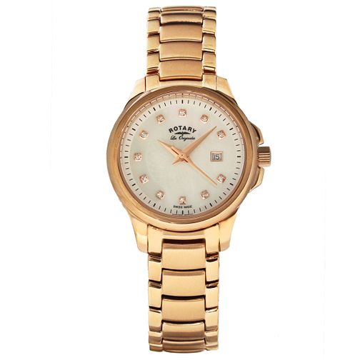 Rotary Les Originales Ladies' Rose Gold-Plated Watch - Product number 5057205