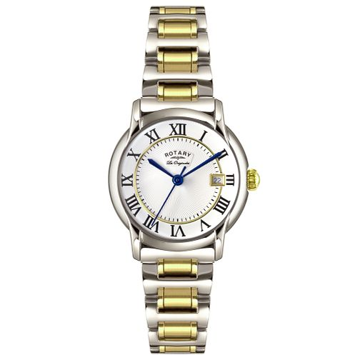 Rotary Les Originales Ladies' 2 Colour Steel Bracelet Watch - Product number 5057213