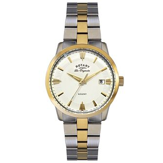 Rotary Les Originales Regent Men's Steel Bracelet Watch - Product number 5057647