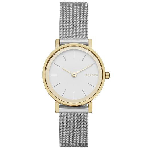 Skagen 2 Colour Stainless Steel Mesh Bracelet Watch - Product number 5062519