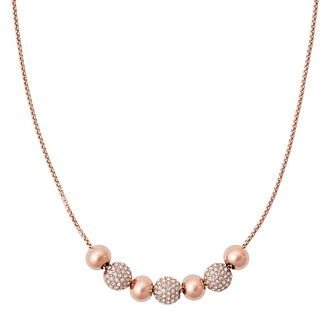 Michael Kors Rose Gold Tone Necklace - Product number 5073014