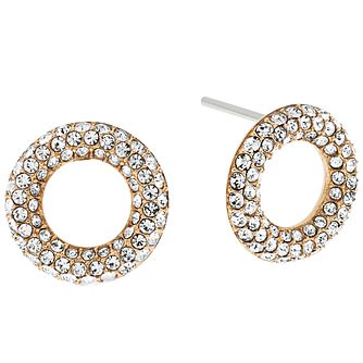 Michael Kors Gold Tone Stone Set Earrings - Product number 5073456