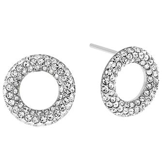 Michael Kors Stainless Steel Stone Set Earrings - Product number 5074126
