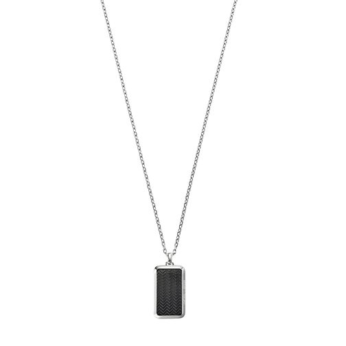 Emporio Armani Men's Sterling Silver Necklace - Product number 5074843
