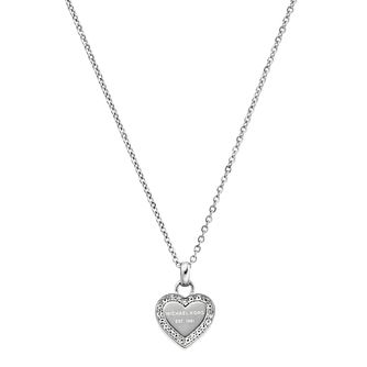 Michael Kors Stainless Steel Stone Set Necklace - Product number 5084822