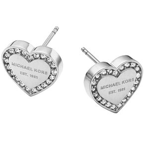 Michael Kors Stainless Steel  Stone Set Stud Earrings - Product number 5084857
