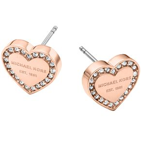 Michael Kors Rose Gold Tone Stone Set Stud Earrings - Product number 5084865