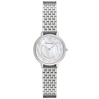 Emporio Armani Ladies' Stainless Steel Bracelet Watch - Product number 5085225