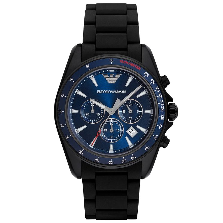 Emporio Armani Men's Ion Plated Strap Watch - Product number 5085381