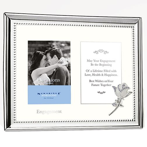 "Newbridge Engagement Double Photo Frame 4"" x 6"" - Product number 5085918"