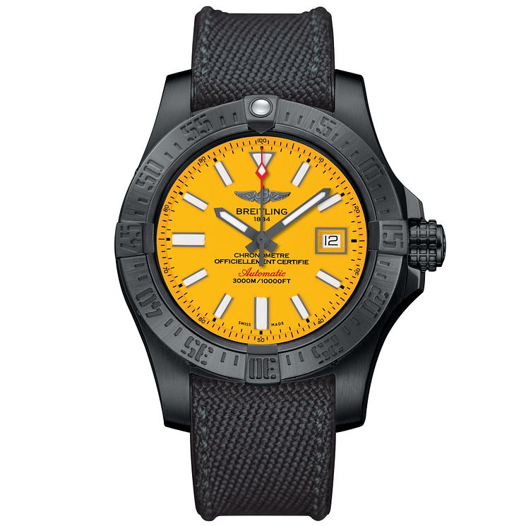 Breitling Avenger Men's Stainless Steel Strap Watch - Product number 5089123