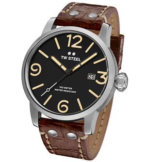 TW Steel Men's Stainless Steel Strap Watch - Product number 5089239