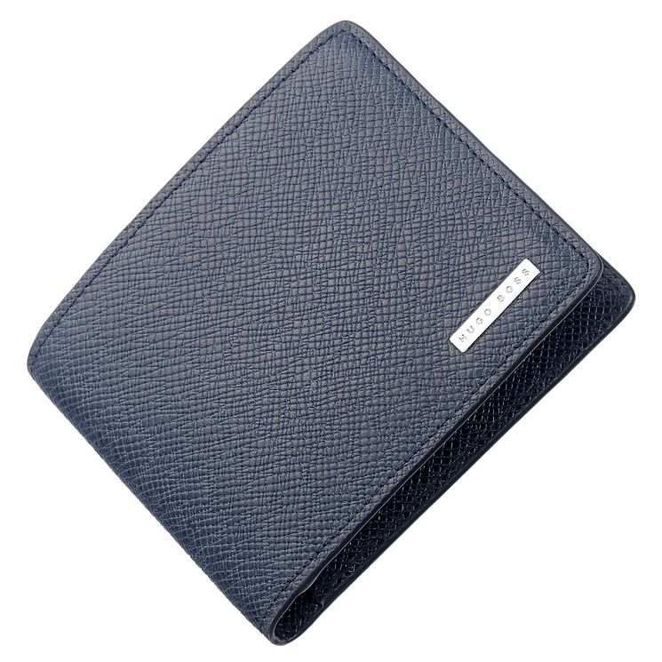 Hugo Boss Men's navy Leather Cardholder - Product number 5092434