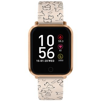 Sterling Silver Diamond Set V Shaped Necklace - Product number 5109671