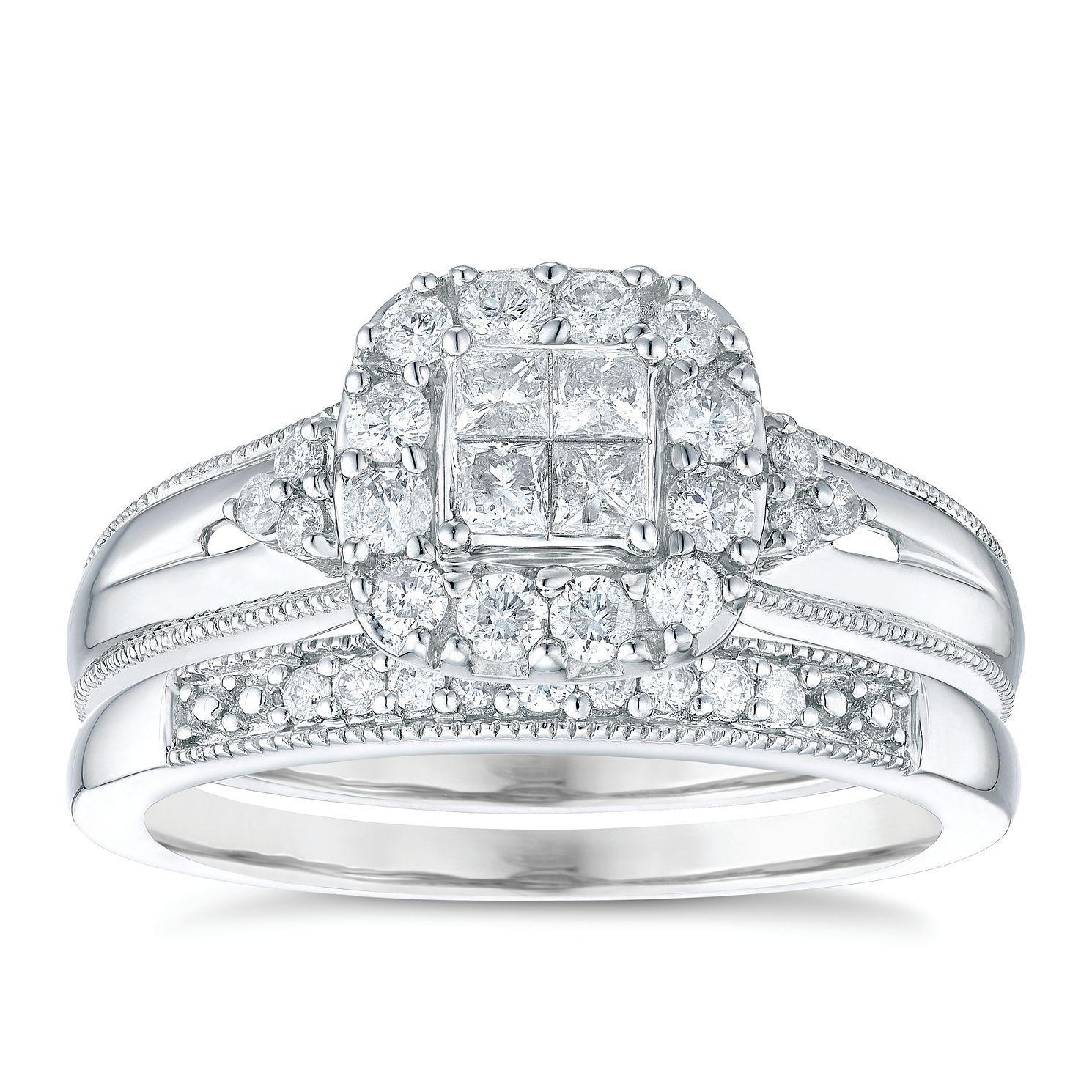 Bridal Set Diamond Rings