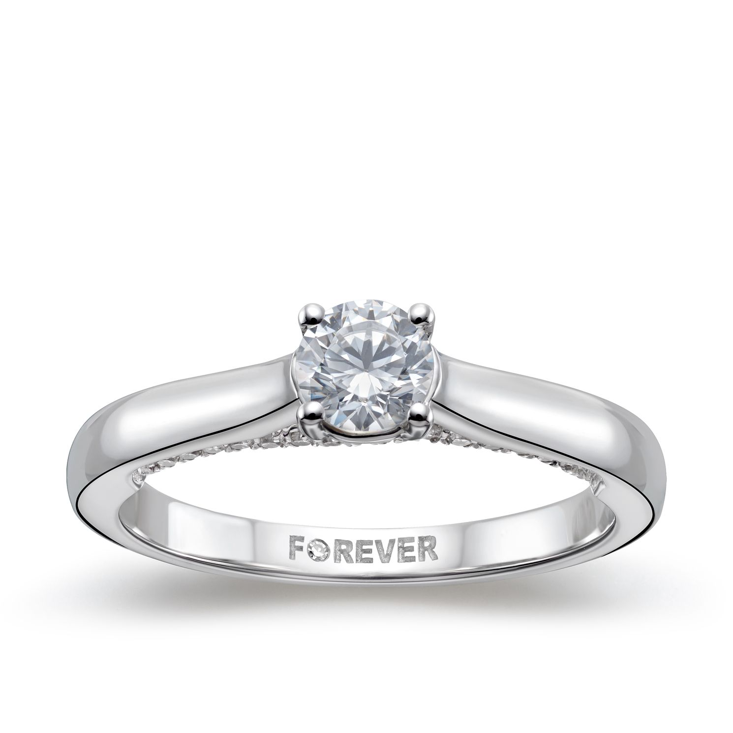 diamond silverscape engraved of solitaire engagement ring daimond designer rings products copy