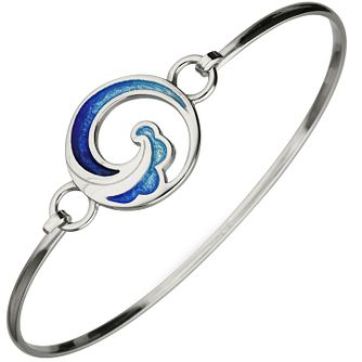 Ortak Coastal Sterling Silver Bangle - Product number 5120217