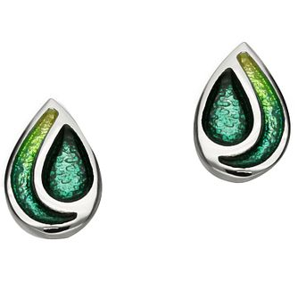 Ortak Cedar Sterling Silver Stud Earrings - Product number 5120349
