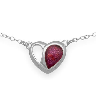 Ortak Hearts Sterling Silver Necklace - Product number 5120497