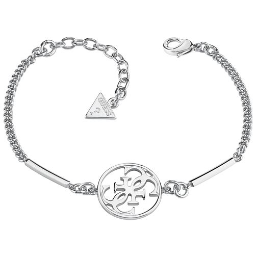 Guess Quattro G Rhodium-Plated Bracelet - Product number 5121183