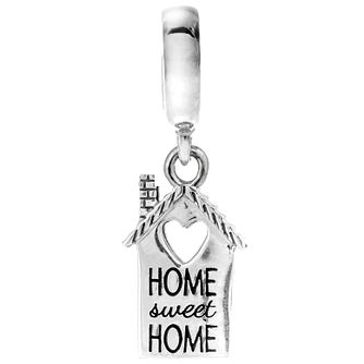 Chamilia Sterling Silver & Enamel Home Sweet Home Charm Bead - Product number 5126878