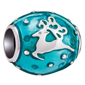 Chamilia Dasher Blue Enamel Bead - Product number 5126932