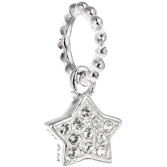 Chamilia Sterling Silver Swarovski Petite Star Charm Bead - Product number 5127122
