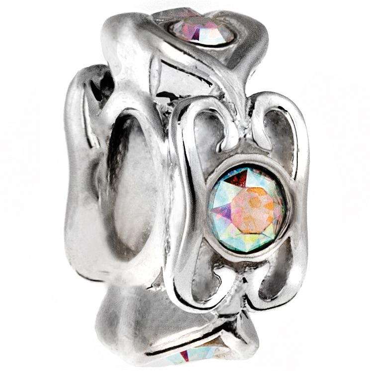Chamilia Sterling Silver Swarovski Glisten Spacer Bead - Product number 5127262