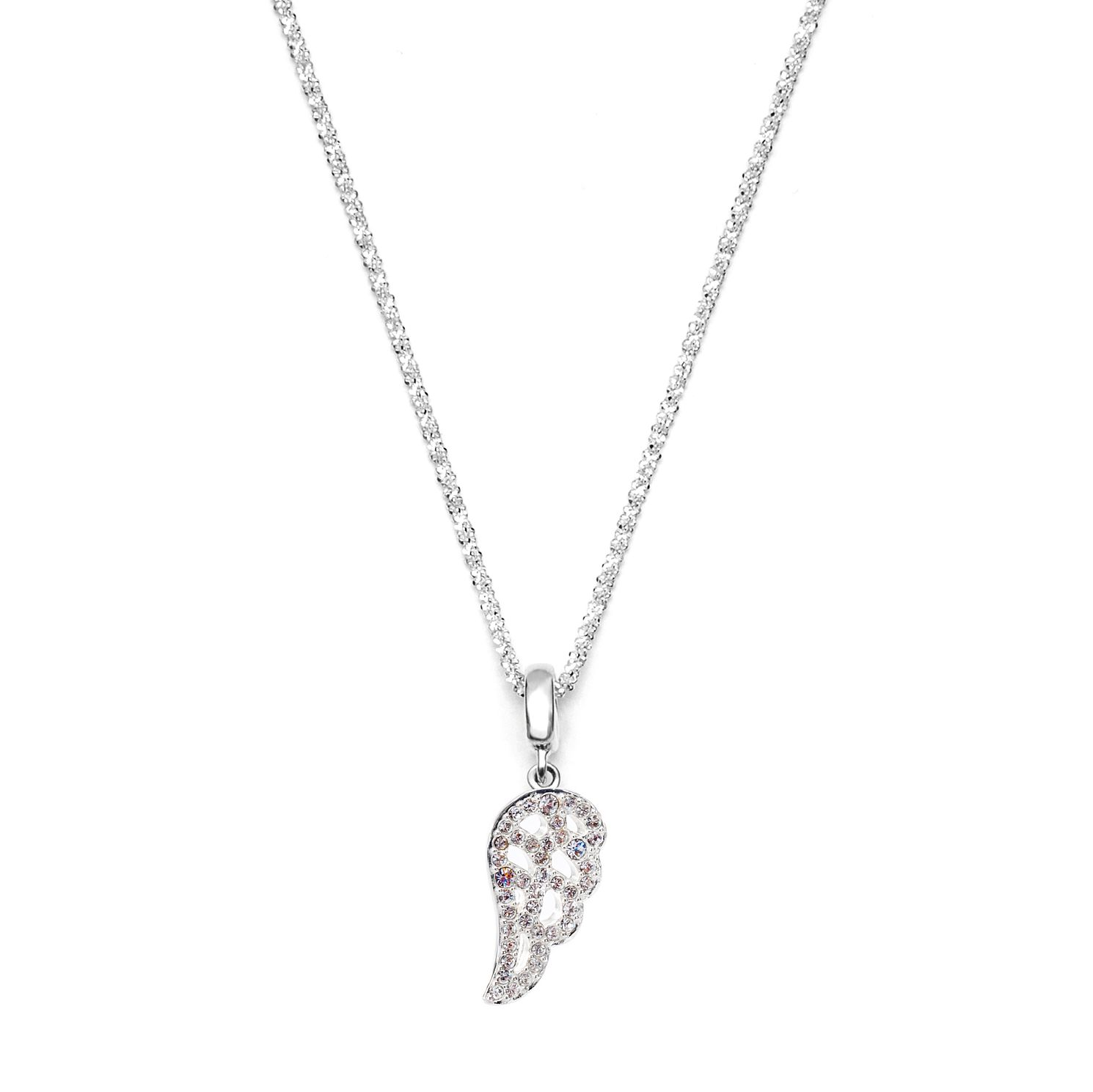 steff product chain jewellery silver angel with highgate wing wings sterling pendant