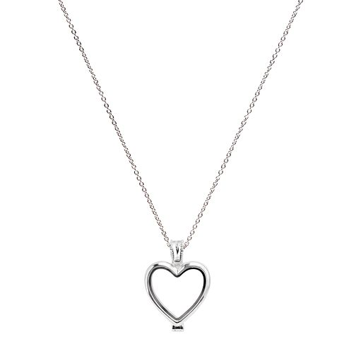 "Chamilia Sterling Silver Heart Memory Locket 18"" Extender - Product number 5127785"
