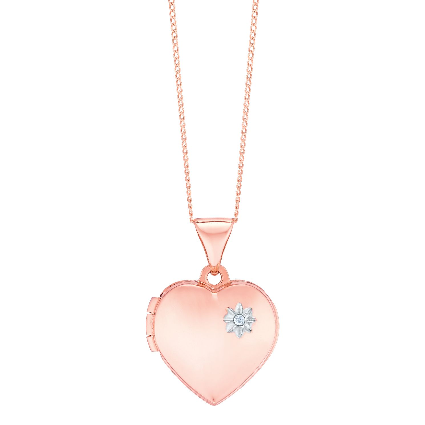 by lockets original heart vermeil locket hurleyburley product personalised rose gold