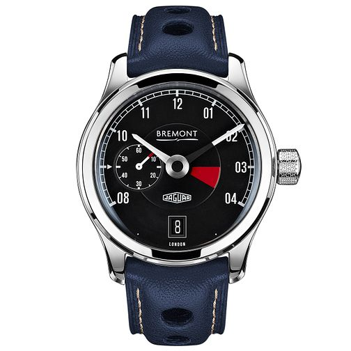 Bremont Jaguar MKI Men's Stainless Steel Strap Watch - Product number 5129222