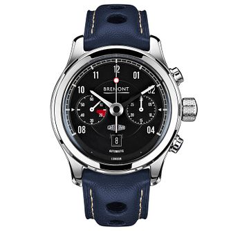 Bremont Jaguar MKII Men's Stainless Steel Strap Watch - Product number 5129230