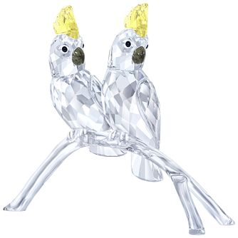 Swarovski Crystal Cockatoos Ornament - Product number 5130913