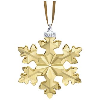 Swarovski Christmas Snowflake Ornament Annual Edition 2016 - Product number 5131065