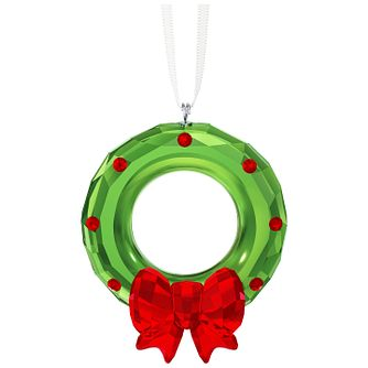 Swarovski Crystal Christmas Wreath Ornament - Product number 5131235