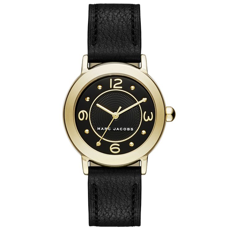 Marc Jacobs Riley Ladies' Gold Tone Strap Watch - Product number 5131561