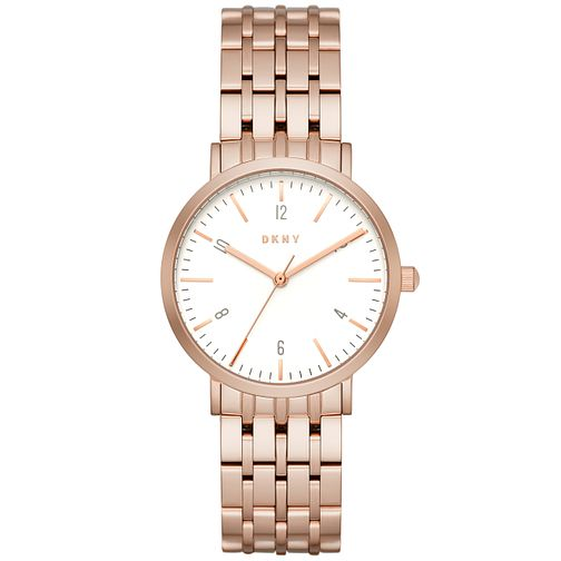 DKNY Ladies' Rose Gold Tone Bracelet Watch - Product number 5131715