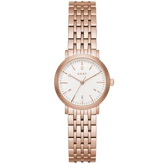 DKNY Ladies' Rose Gold Tone Bracelet Watch - Product number 5131790
