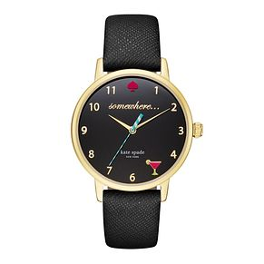 Kate Spade Metro Ladies' Gold Tone Strap Watch - Product number 5133807