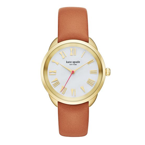Kate Spade Crosstown Ladies' Gold Tone Strap Watch - Product number 5133858