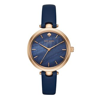 Kate Spade Holland Ladies' Rose gold Tone Strap Watch - Product number 5133904