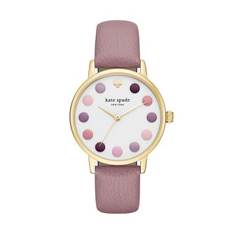 Kate Spade Metro Ladies' Gold Tone Strap Watch - Product number 5133963