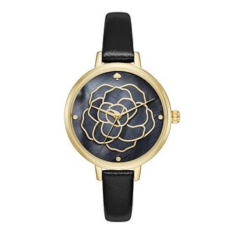 Kate Spade Ladies' Gold Tone Strap Watch - Product number 5133998
