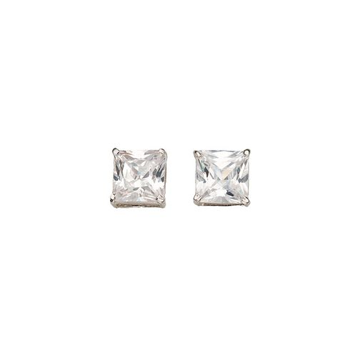 White Gold Cubic Zirconia Studs - Product number 5139333